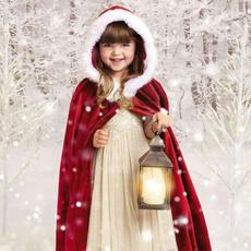 hooded, Cosplay, Christmas, cloak
