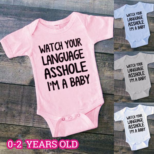cute, babybodysuit, babyromper, Funny