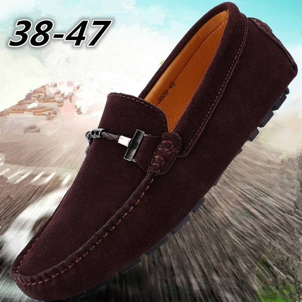 casual shoes, Suede, mensdriverloafer, suedeshoe
