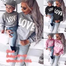 Baby Girl, Fashion, Love, letter print
