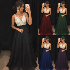 Sleeveless dress, Plus Size, gowns, Dress