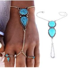 bohemia, Beaded Bracelets, Turquoise, boho