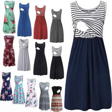 Maternity Dresses, Fashion, Floral print, nursingclothe