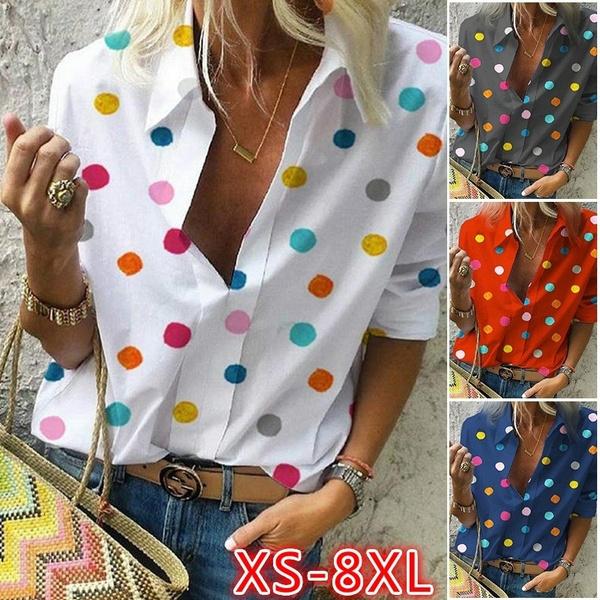 blouse, Summer, summer t-shirts, Tops & Blouses