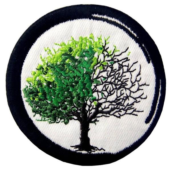 Sewing, irononapplique, sewingpatchdiy, zen