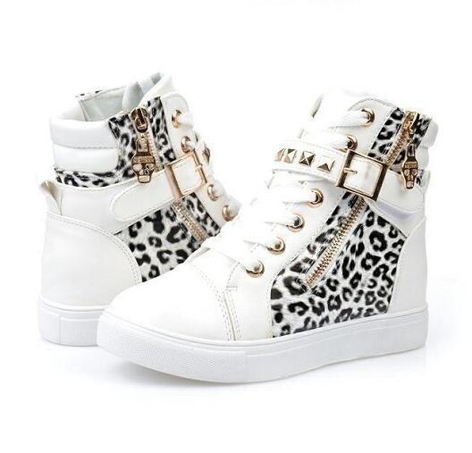 Sneakers, Fashion, Tops, Leopard