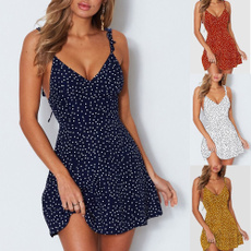 Summer, Fashion, Mini, Tops