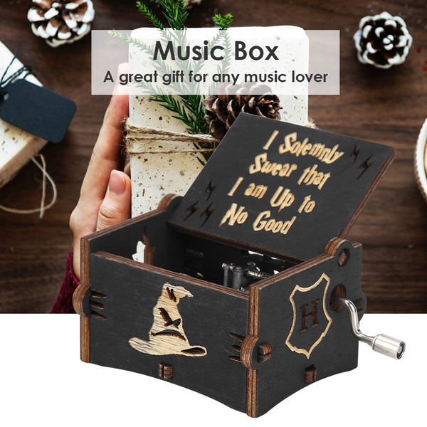 Box, musicbox, Gifts, Wooden