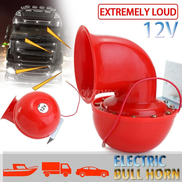 electricbullhorn, Electric, Auto Parts, boathorn