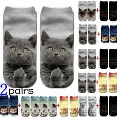cute, Cotton Socks, art, Women's Fashion