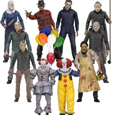 necaactionfigure, texaschainsawmassacre, jason, halloweengift