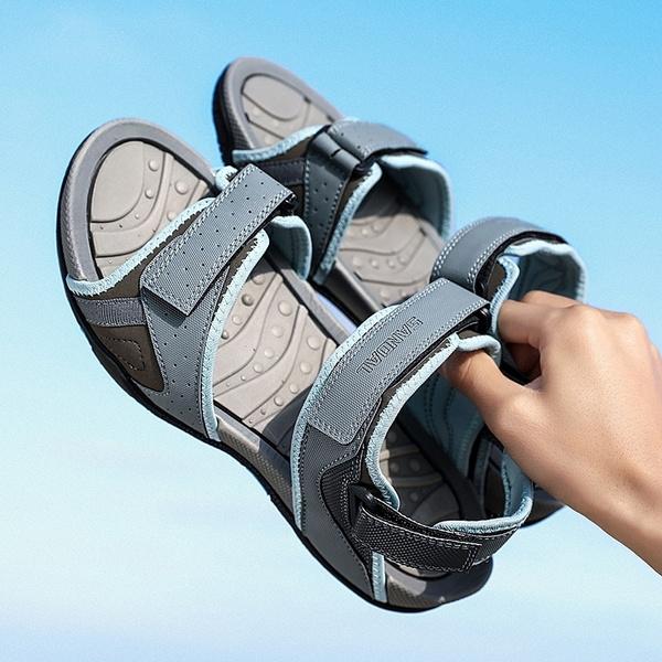Sandals & Flip Flops, Plus Size, beachsandalsmen, Summer