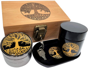 Box, stashboxcombo, titaniumgrinder, woodstashbox