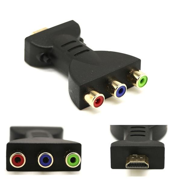 rgbrcacomponentconverter, Converter, Hdmi, Consumer Electronics