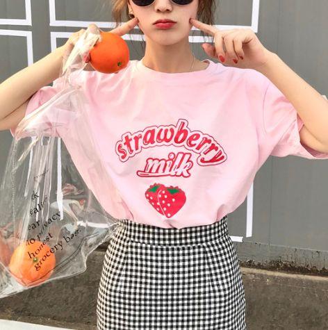 Summer, Korea fashion, Fashion, cute