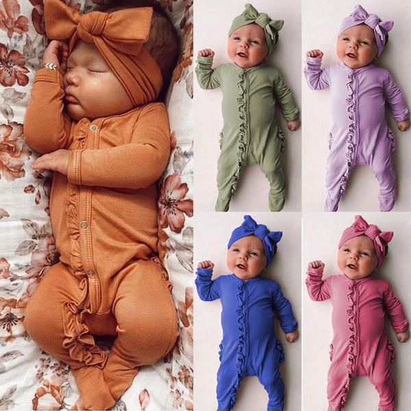 cute, Sleepwear, babyromper, Sleeve