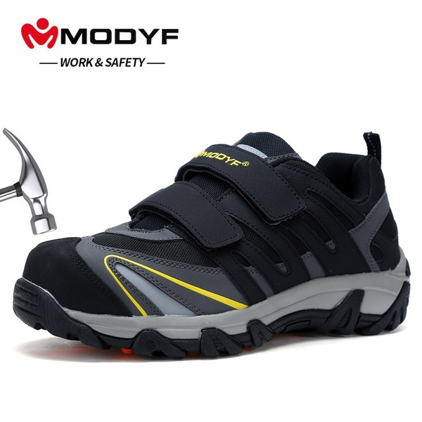 velcro steel toe cap shoes