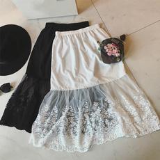 Lace, underskirt, slipskirt, Women's Fashion