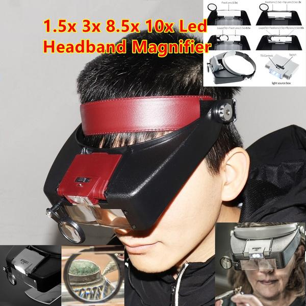 ledmagnifier, Head, Loupes, jewelerwatchmagnifier
