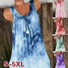 sleeveless, tunic, Lace, tunic top