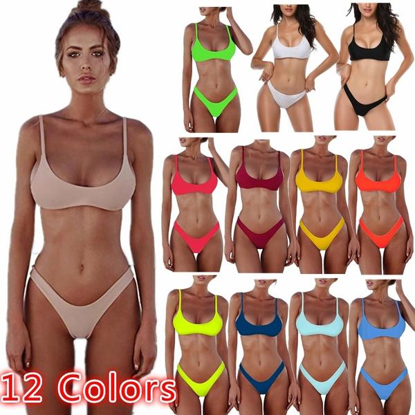 thong bikini, two piece swimsuit, bikini set, sexy brazilian bikinis