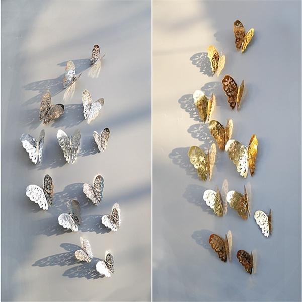 butterfly, butterflywallsticker, hollowbutterflywallsticker, 3dwallsticker