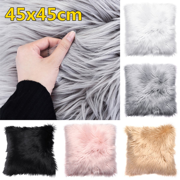 fur, Home Decor, sofacushioncover, Home & Living