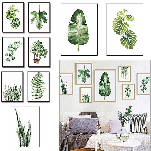 art print, leaves, Plants, Fashion