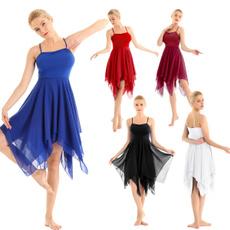 sleeveless, Ballet, Cosplay, gymnasticdres
