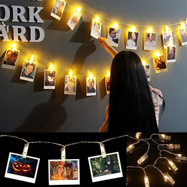 multicolorfairylight, fairylightswithclip, photoholderforhangingthewall, Wedding
