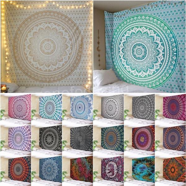 Yoga, Home & Living, bohowalltapestry, Blanket