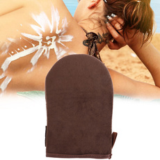 brown, Summer, mousseglove, bodycleaningglove