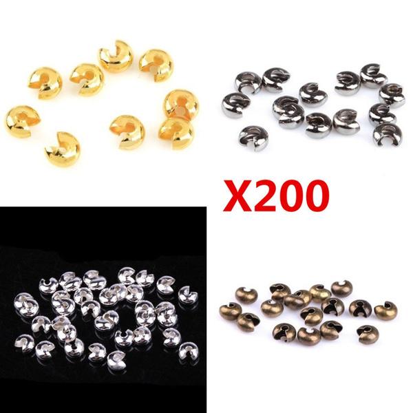 endbead, goldplated, charmbead, Jewelry