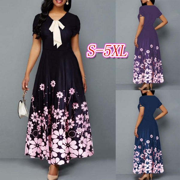 bowknot, short sleeve dress, sleeve dress, Sleeve