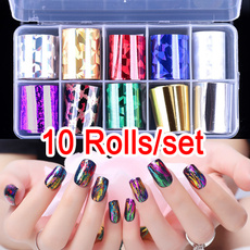 manicure tool, nail stickers, Holographic, Laser