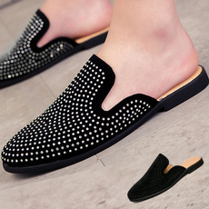 mensdressshoe, casual shoes, backlessloafer, partyshoe