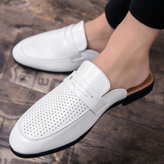 mensdressshoe, casual shoes, mensleatherslipon, leather