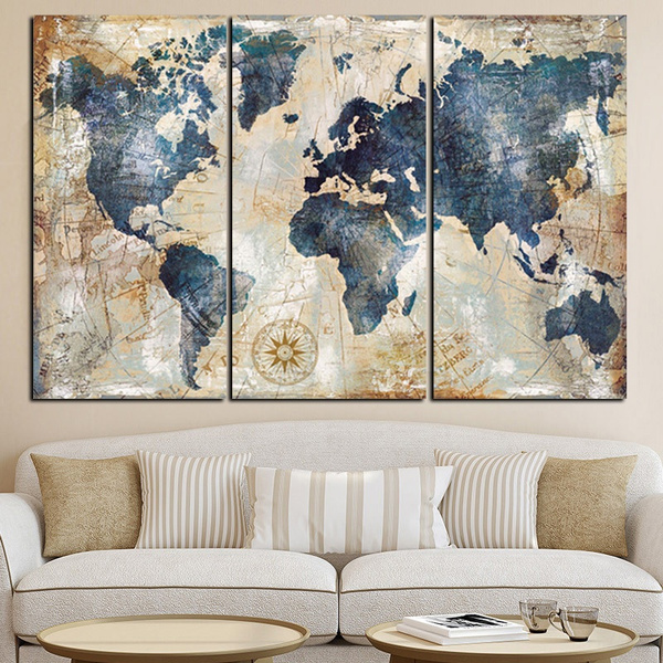 landscapecanvasprint, canvaswallart, Wall Art, worldmap