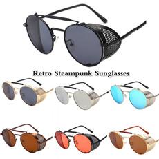 retro sunglasses, uv400, Designers, Round Sunglasses