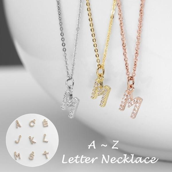 Chain Necklace, DIAMOND, Jewelry, women necklace