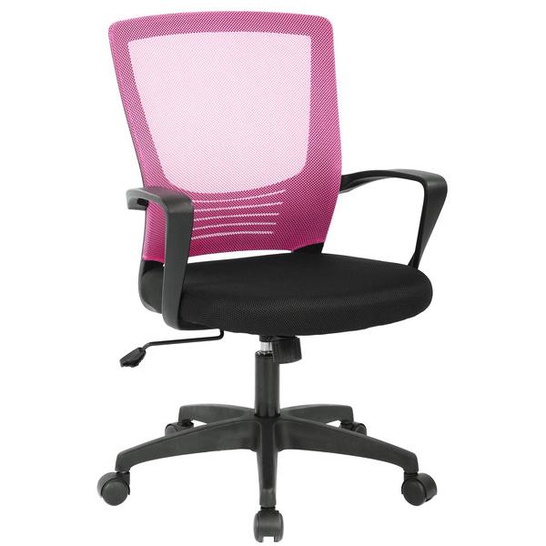 pink, swivel, Modern, Office