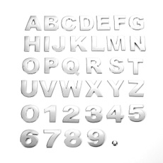 Car Sticker, chrome, Metal, Stickers