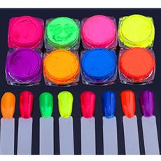 gradientcolor, Glitter, nailglitter, Beauty