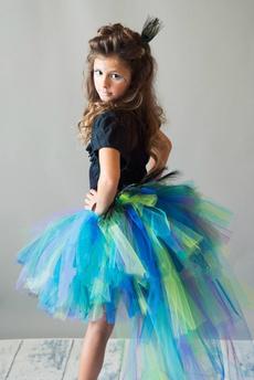 Baby, peacock, kids clothes, tutuskirt