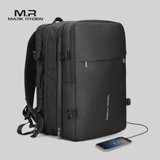 travel backpack, black backpack, Capacity, markryden