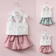 bowknot, Baby Girl, Set, kids clothes