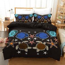 Polyester, 3pcsbeddingset, cartoonbedding, Bedding