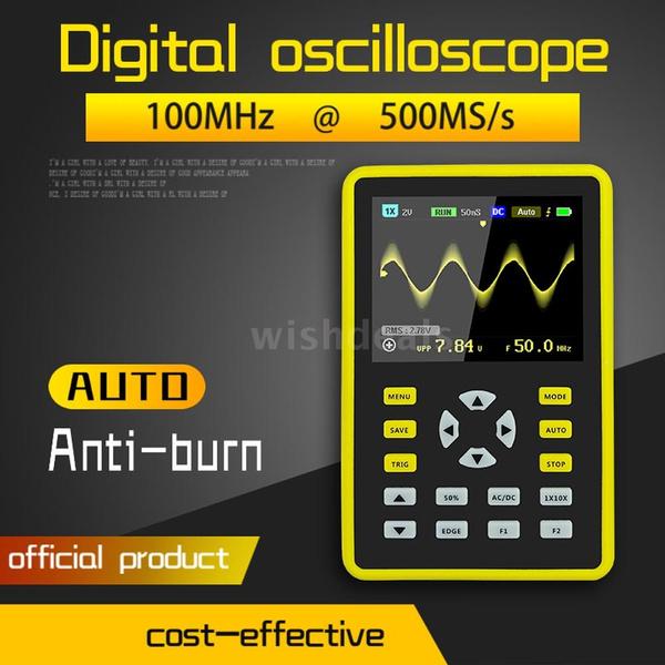 Mini, bandwidthoscilloscope, oscilloscopeprobe, oscilloscope