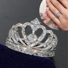 americanring, crystal ring, Jewellery, crownring