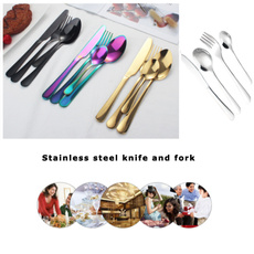 Forks, Steel, Bright, fourpiece